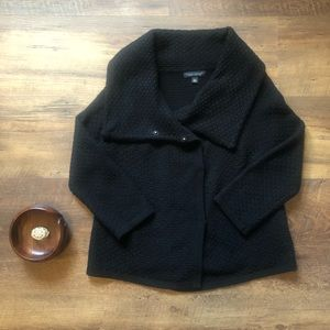 BR Collared Swing Coat, Italian Wool Blend, XL